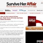 Survive Her Affair – The First & Only Man's Guide To Healing And Dealing When Your Wife Cheats