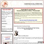 How To Housetrain / Housebreak or Potty Train Your Dog or Puppy