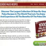 1000 Paleo Recipes – Earn Up To $75/sale – High Conversions!