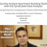 Quickly Analyze Apartment Building Deals with the Syndicated Deal Analyzer (CB)   Syndicated Deal Analyzer