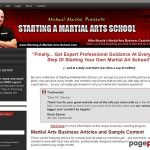 Small Dojo Big Profits – Guide To Starting A Martial Art School