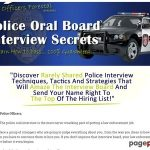 Police Oral Board Interview Secrets PDF – Sample Interview Questions