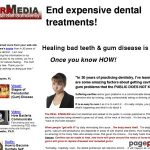 Freedom from dental disease