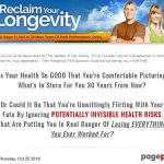 Reclaim Your Longevity: 8 Simple Steps To Dial In 20 More Years Of Peak Performance Living