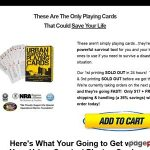 ClickBank — Urban Survival Playing Cards