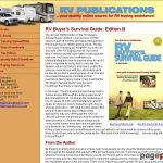 RV Publications | RV Buyer's Survival Guide