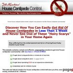 House Centipede Control – Get Rid of House Centipedes