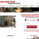 Survive – Survival Ready Blog, Outdoor Survival Gear & Skills, SHTF , Survival Skills, Preppers, Survival Gear, Survival Kits