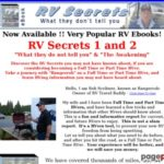 RV Secrets – What they do not tell you