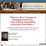 How To Improve Restaurant Dining Room Service.