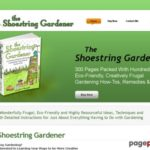 Eco-Friendly Gardening Techniques | Frugal Gardening | The Shoestring Gardener