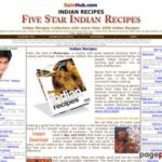 Indian Recipes : FIVE STAR INDIAN RECIPES 1000+ Chef Style Recipes of Indian Food Cuisine