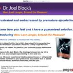 Dr Joel Block – Men: Last Longer, Extend the Pleasure E-Book