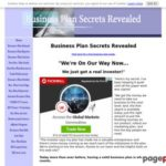 The Complete Business Plan Secrets Revealed Business Plan Manual