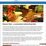 Denver Diet – A Healthy, Convenient Whole-Food Diet