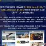I show You how I made $1,006 from $100, then $257,000 from $1,006 with Bitcoin and crypto currencies! Finally, I have made a detailed training system that shows an absolute beginner (without any skill) how to make huge profits in a short time with cryptos!