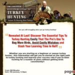 How To Hunt Turkey | The Essential Beginners Guide to Turkey Hunting | Homepage
