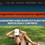 Quarantine Home Workout Plan | No Gym, No Equipment, No Problem