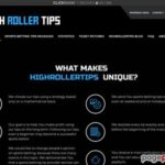 High Roller Tips – Sports betting tips, football betting tips, high odds football tips, high odds soccer tips for high rollers, high-stake players and big stakers.