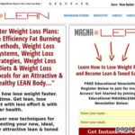 MAGNA Lean | Fat Loss Weight Loss Systems  » MAGNALEAN EXTREME Ultra Fast Fat Burning System