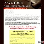 You Can Save Your Christian Marriage!