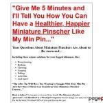 Miniature Pinscher Training – Miniature Pincher – Train a Min Pin and Mini Pinscher Puppy