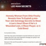 Leo Man Secrets — Put That Hot Leo Man Under Your Spell