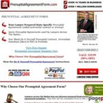 Prenuptial Agreement Form (Free Sample): Download Now
