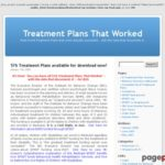 Treatment Plans That Worked | Real-World Treatment Plans that were actually successful… with the data that documents it.