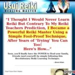 Usui Reiki Healing Master – How To Learn Reiki The Easy Way