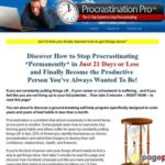 Stop Procrastinating – A 21-Day Program to Break the Habit