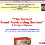Instant Event Fundraising System