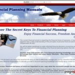Financial Planning Books : Keys to Financial Planning : Planning Retirement : Budgeting Money : Estate Planning Strategies : Financial  Planning Tools : Financialplanningmanual.com