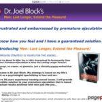 Dr Joel Block – Men: Last Longer, Extend the Pleasure E-Book