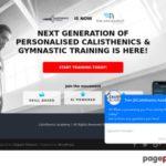 Ebook Sales Page ClickBank | Calisthenics Academy