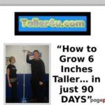How To Grow Taller – Grow 3-6 Inches (7.62cm-15.24cm) Taller Now