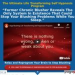 Stop Blushing & Regain Confidence Self Hypnosis Program