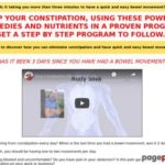 Stop Constipation with Natural Remedies