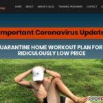 Quarantine Home Workout Plan | No Gym, No Equipment, No Problem