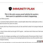 Immunity Plan