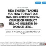 30 Days To Online Digital Product Profit