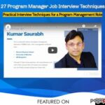 27 Program Manager Job Interview Techniques