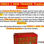 FOREX 1 MIN TRADER Trading System – World's first one minute profitable forex trader
