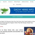 Grow Herbs Info