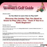 Ultimate Women's Golf Guide